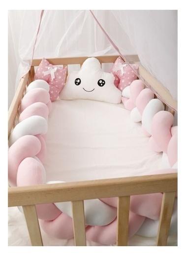 Bebe Konfor Pembe Örgü İle Doğal Karyola Bebek Beşi̇ği̇ Pembe